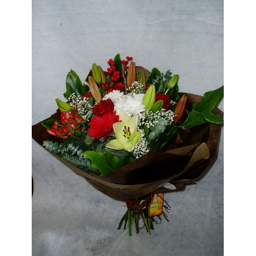 Bouquet de Flores Mistas Natalícias